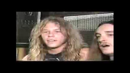 Metallica - Метал Мания 1986