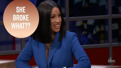 Cardi B talks motherhood and her you-know-what