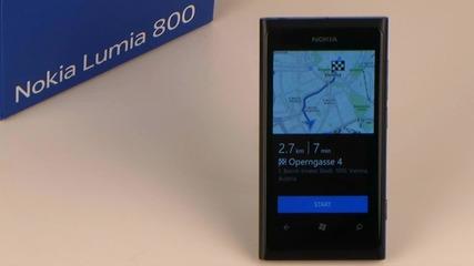Въвеждане на дестинация в Nokia Navigation на Nokia Lumia