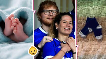 Изненада: Ед Шийрън стана баща! Със съпругата му избраха наистина странно име за детето