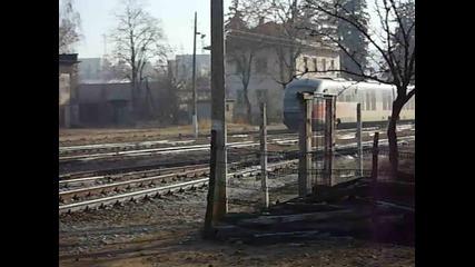 Най-после влак на гара Панагюрище