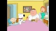 Family Guy - Stewie Яде Конска Сперма :p