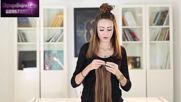 Europe Hairs - как се поставя коса на клипси