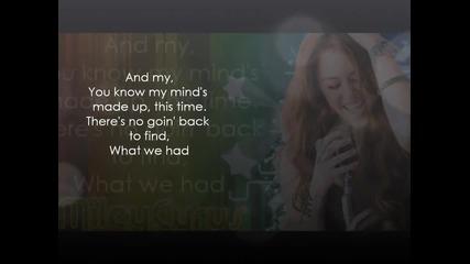 Miley Cyrus - Giving you up (lyrics)