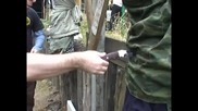 Нож тест тактики, обучение