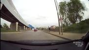 Пътнотранспортно произшествие с мотопед