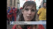 Уличен бой с портокали превзе улиците на италианския  град Иврея