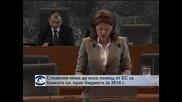 Словения няма да иска помощ от ЕС засега, прие бюджета за 2014  г.