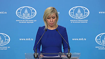 Russia: Zakharova slams the UK for their treatment of Assange