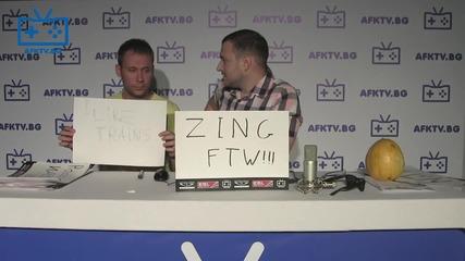Табелки от феновете на финалите на Eps - Afk Tv Еп. 34 част 1