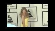 Fergie Red Carpet Grammy 2008