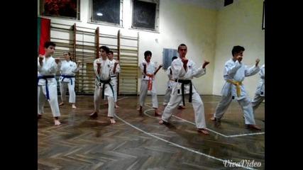 клуб Будошин (карате шотокан ) ката