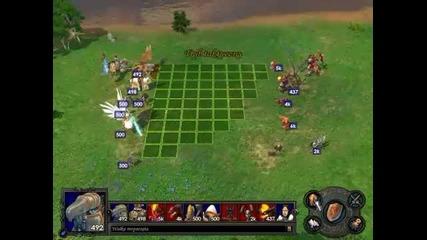 Heroes V battle