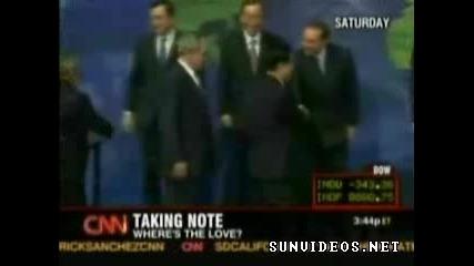 Джордж Буш се сърди..