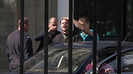 Изведоха Джок Полфрийман от Софийския затвор (СНИМКИ)
