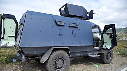 Serbia: Armed police monitor situation at Kosovo-Serbia border amid tensions