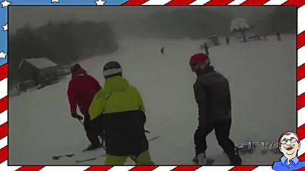 Най-опасните зимни спортове