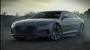 Audi наказа конкуренцията с този шедьовър!!! - Prologue Show Car A New Design Era