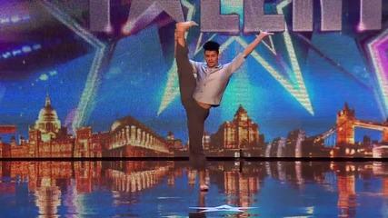 Участник от Гибралтар и неговият страхотен танц - Britain's Got Talent 2015