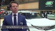 Jaguar Land Rover at Geneva Motor Show 2015