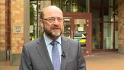 """Belgium: """"We are all today with the French people"""" - EU's Schulz"""
