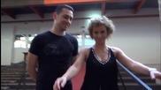 Dancing Stars - Нана преди предаването 18.03.2014г.