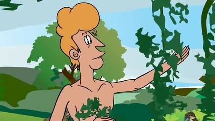 Оплескани библейски истории - еп.2 - Адам и Ева