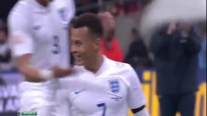 Англия победи с 2:0 Франция в приятелски мач, който бе игран на стадион
