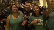 Colombia: Atletico Nacional fans party in Medellin after Copa Libertadores win