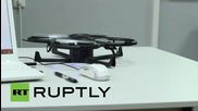 Russia: Flying robot vacuum cleaner invented by Russian student