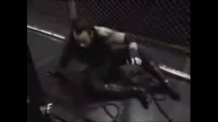 The Undertaker vs  Big Boss Man Hell In A Cell Part 2