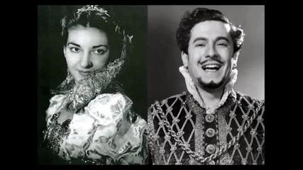 Rigoletto [part 1 of 3] - Callas, di Stefano (live 1952)