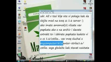 Kak Da Slojim Amxmod(x) Na Cs Servera Ni