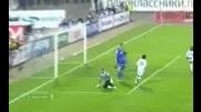 27.10 Динамо Москва - Цска Москва 1:3 Сергей Игнашевич гол