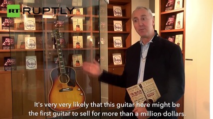 John Lennon's Lost Guitar May Auction for $1 Million