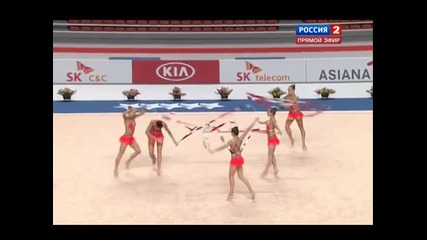 2015 Универсиада - Ритмично гимнастика Група Ленти