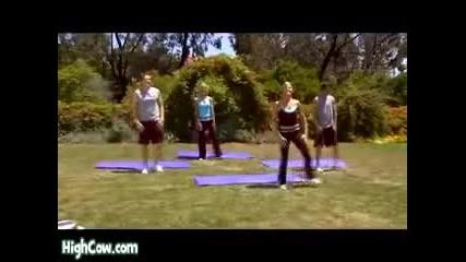 Тренировка за корем със смях!!!