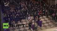 France: Notre Dame Cathedral holds mass for victims of Paris attacks