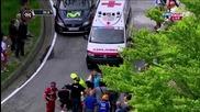 Зверско падане на Джиро д'италия