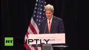 """Austria: Iran deal is """"a step away from the spectre of conflict"""" - Kerry"""