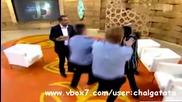 Женски бой в ефир - Димитре, к'во праеш на жената бе - Луд Смях !!