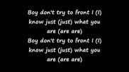 Womanizer Lyrics ;