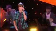 Justin Bieber - Favorite Girl & One Time [ на живо в шоуто на Елън 11.03.2009 ]