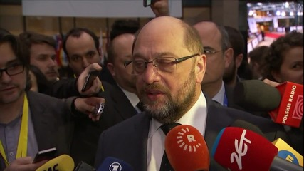 Belgium: 'Very, very tense situation' - European Parliament's Schulz on Brexit talks