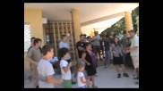 Протест срещу сектата Свидетели на Йехова организиран от Будители - 10.06.2012 година