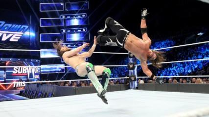 AJ Styles vs. Daniel Bryan - WWE Championship Match: SmackDown LIVE, Nov. 13, 2018