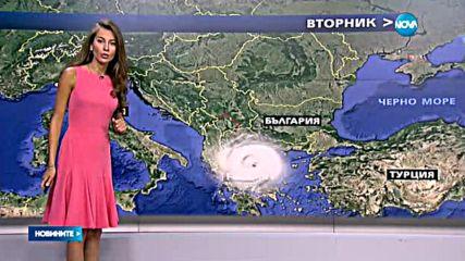 """Циклонът """"Виола"""" е причина за опасно силните дъждове в България"""