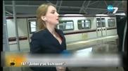 Репортерски неволи в TV7 - Господари на ефира (04.05.2015г.)
