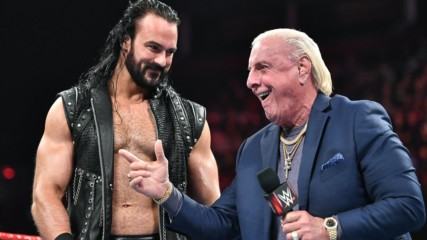 Ric Flair names Drew McIntyre to Team Flair: Raw, Oct. 21, 2019