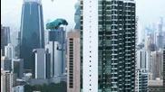 Най-дългата в света градска зип линия